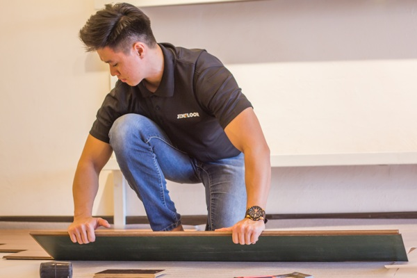 laminate Flooring installation johor bahru