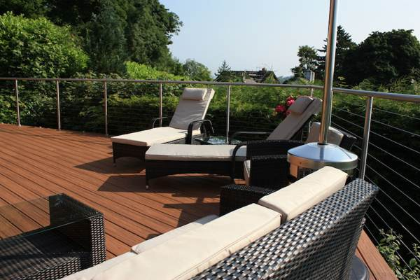 capped composite decking for patio