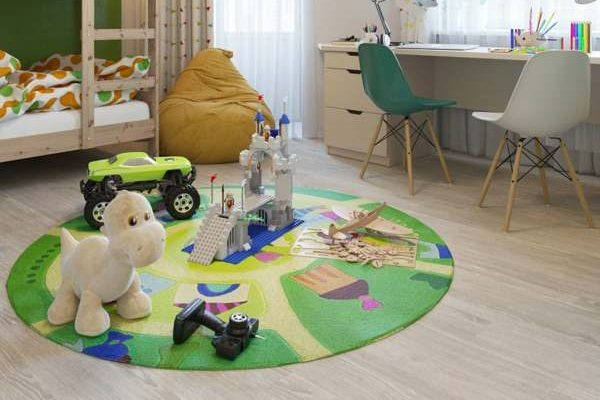 install laminate flooring for children's room