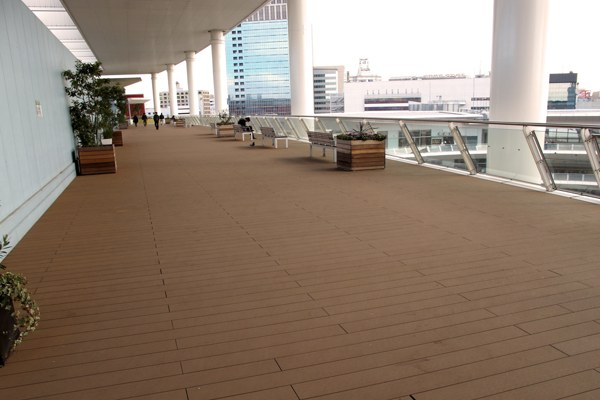 plastic lumber decking for balcony